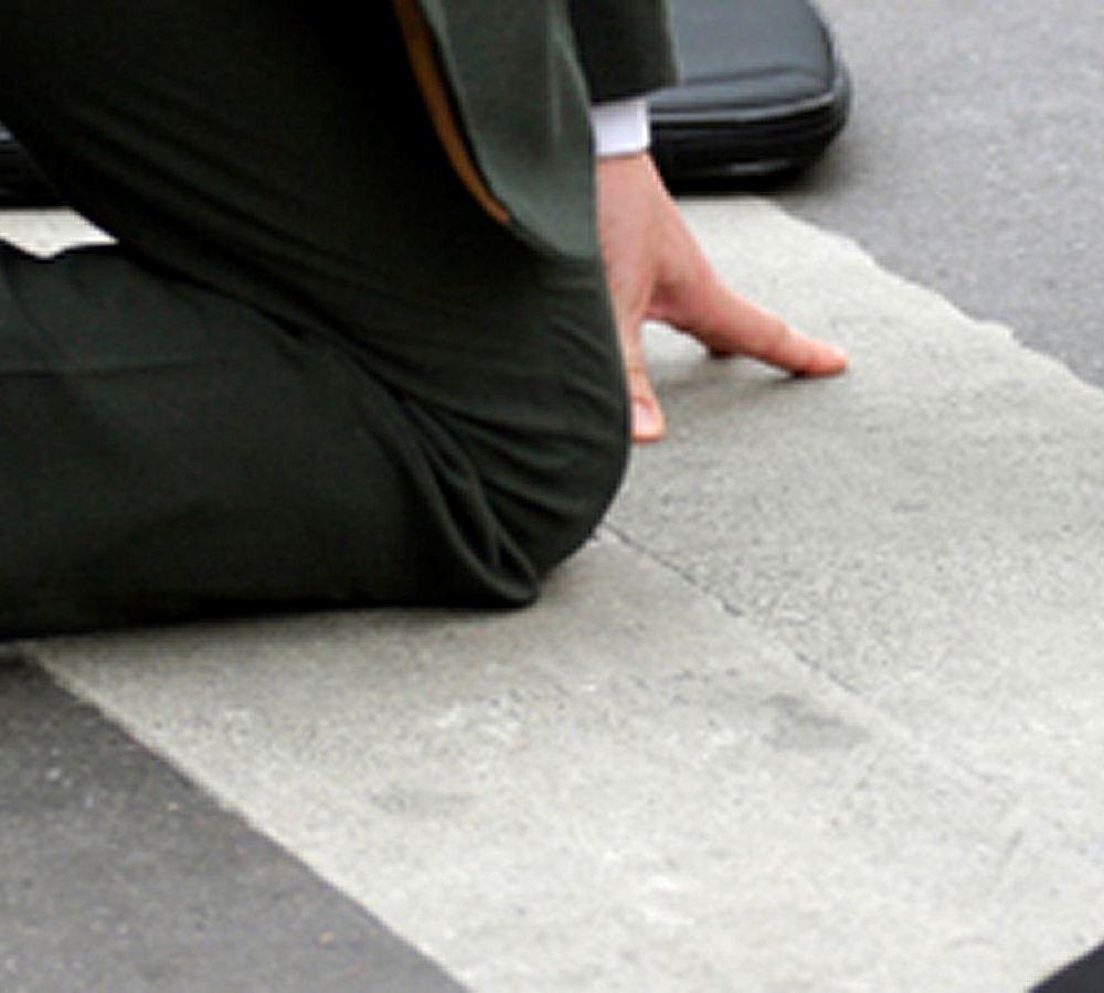 Reclamación Caída en la Calle